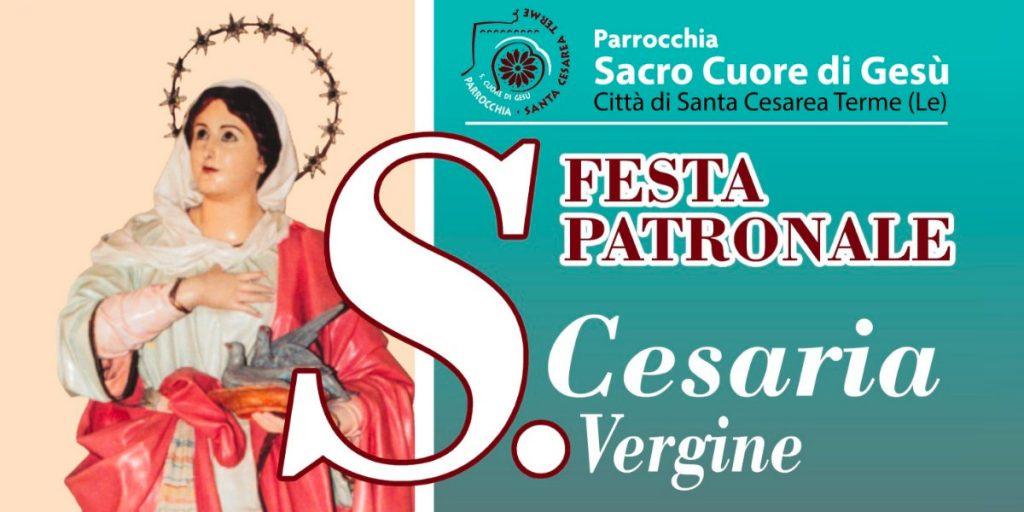 La festa patronale di porto cesareo in onore della Santa Cesarea
