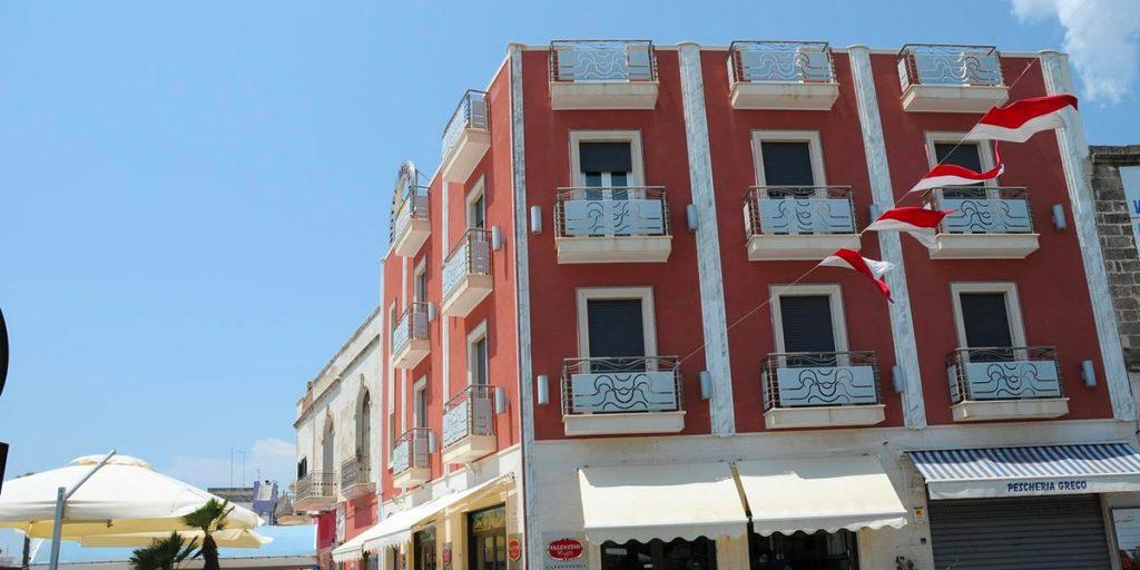 Hotel in centro a Porto Cesareo