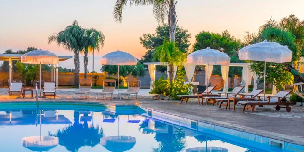 Hotel con piscina a porto cesareo Villa Hermosa