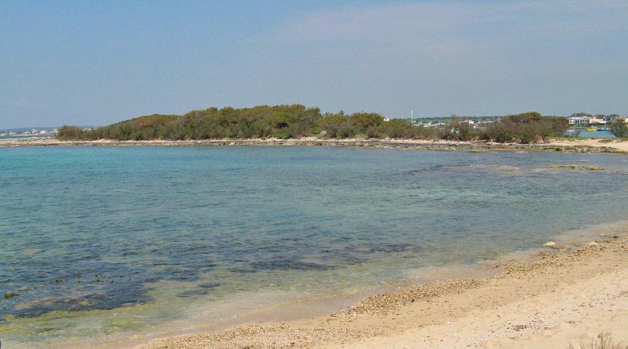 Spiaggia dell'isola dei conigli