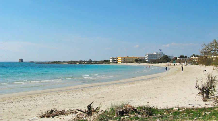 Spiaggia scalo di furno a porto cesareo