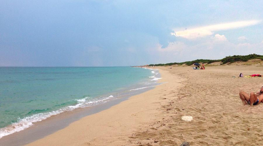 La spiaggia di torre colimena